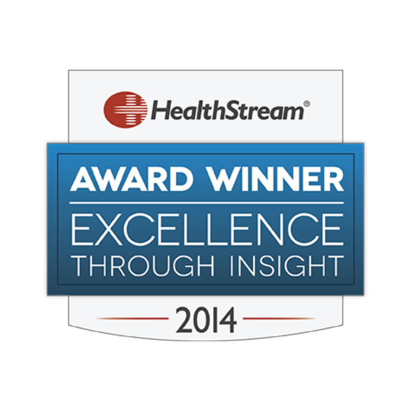 2014 Healthstream award