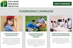 Pullman Regional Hospital Launches New Online Fundraising Tool