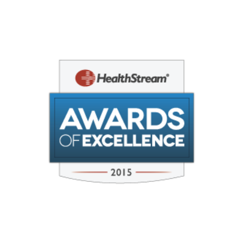 Healthstream award 2015