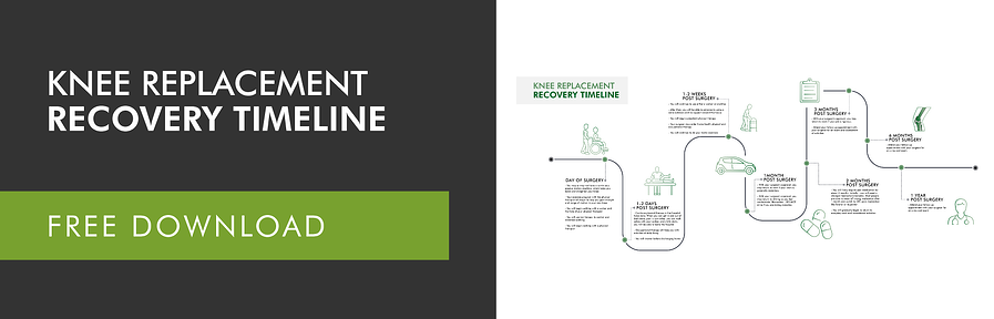 Knee Replacement Recovery Timeline - Dark grey-02