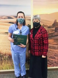 Bekah Herndon Receives DAISY Nurse Recognition Award