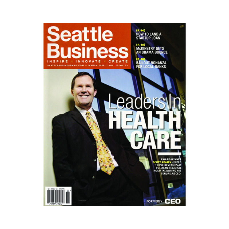 Scott Adams Seattle Business Award Cover