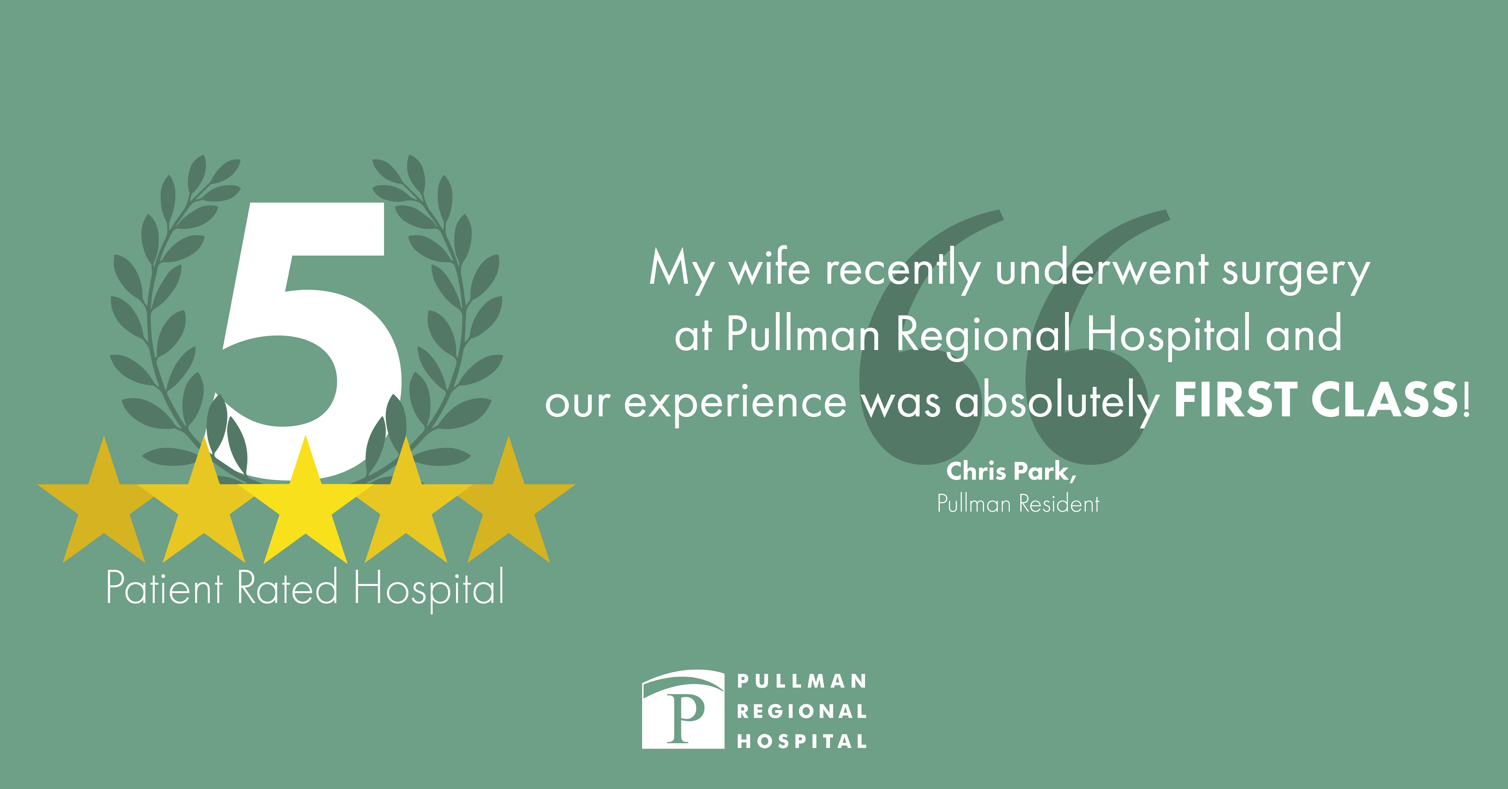 Proud to Provide a 5-Star Patient Experience